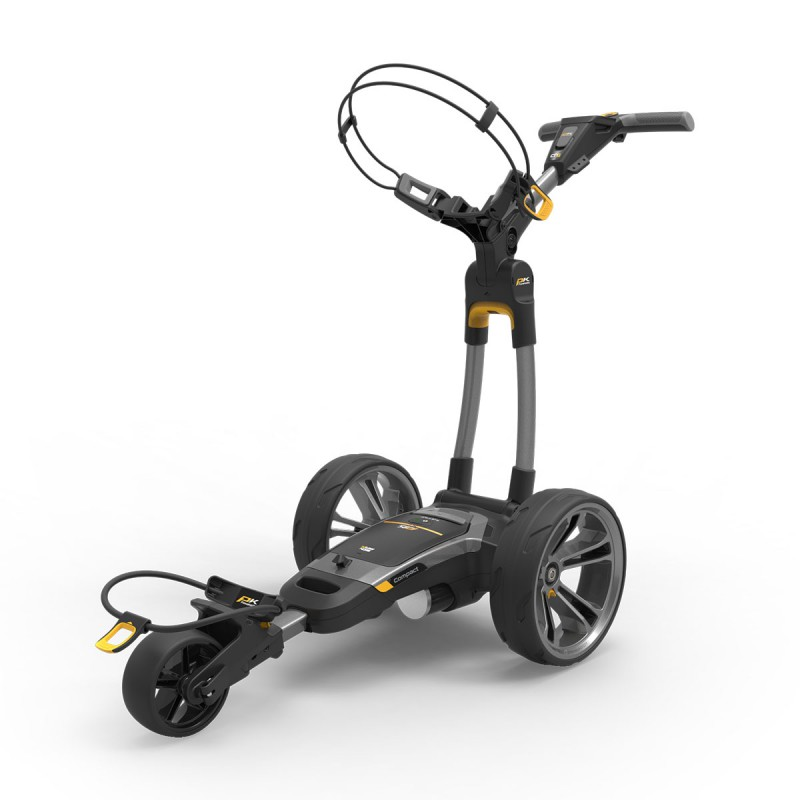 PowaKaddy CT6 GPS Carro Eléctrico Litio 18/27 Color GunmetalCarros Eléctricos Golf