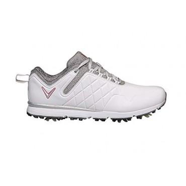 CALLAWAY Lady Mulligan 2020, Zapatos de Golf Mujer, Blanco/HeatherZapatos Golf Señora