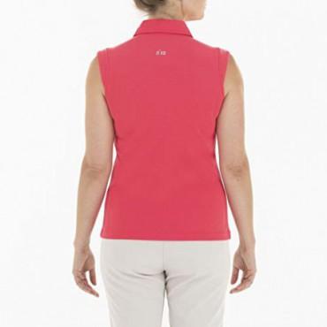 Polo Nikki Golf Mujer, Color Coral, Talla LRopa de Mujer
