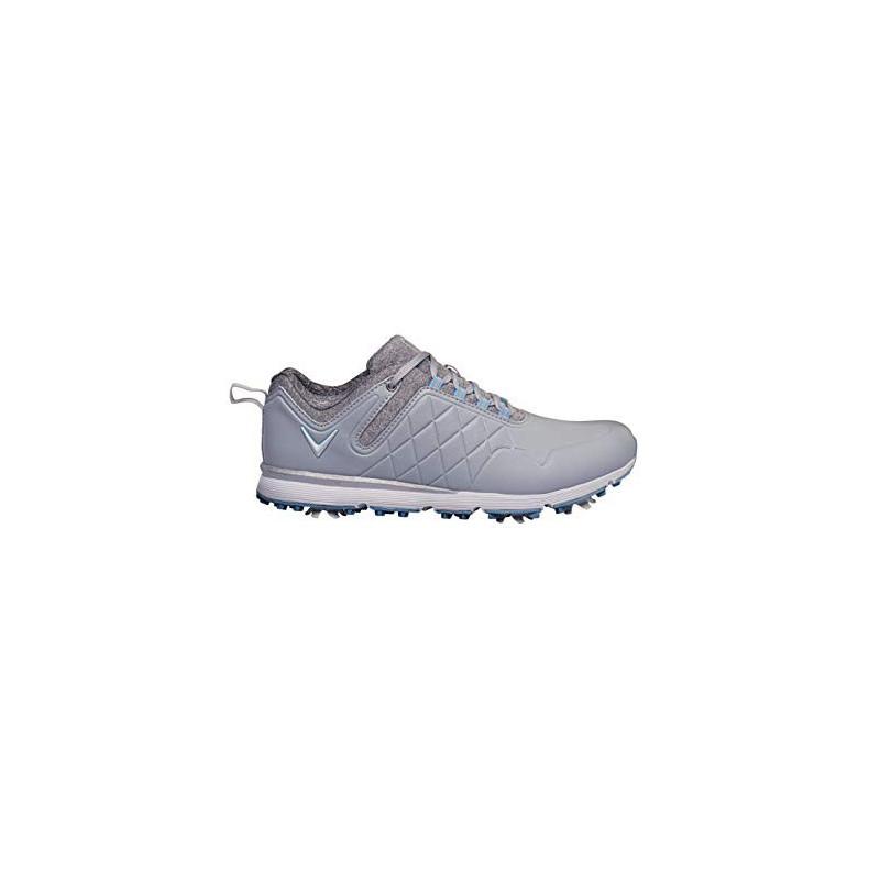 CALLAWAY Lady Mulligan 2020, Zapatos de Golf Mujer, Gris/HeatherZapatos Golf Señora
