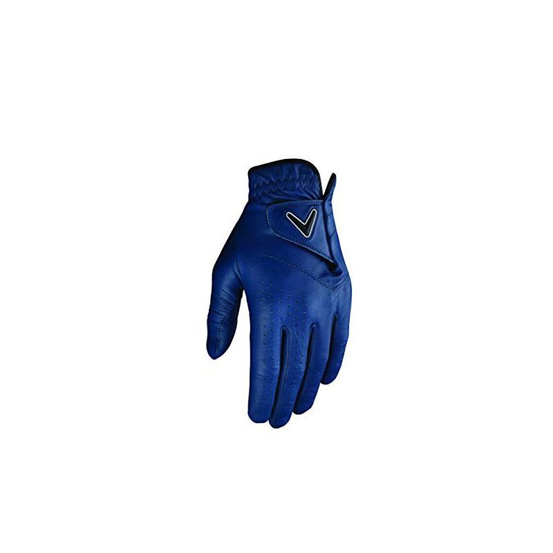 Callaway Golf OPTI-Color Guante de Golf, Hombre, AzulGuantes Hombre