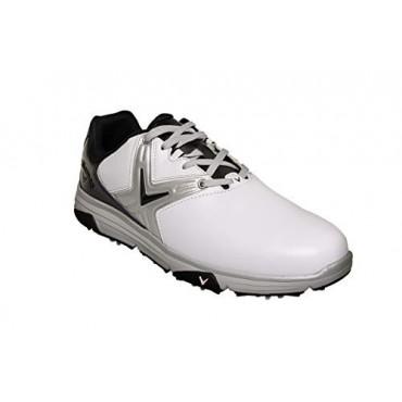 CALLAWAY Chev Comfort 2020, Zapatos de Golf Hombre, Blanco/NegroInicio