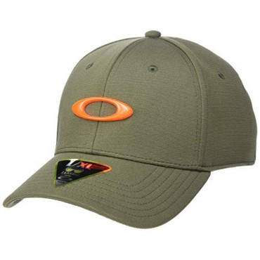 Oakley Tincan Gorra Golf para hombre, Verde/Naranja. Talla L/XLGorras y viseras Golf