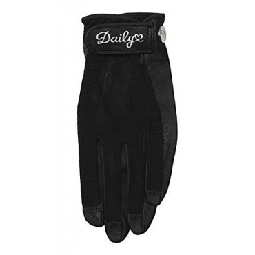 Daily Sports, Guante de Golf Solar, Mujer, Negro.Guantes Mujer
