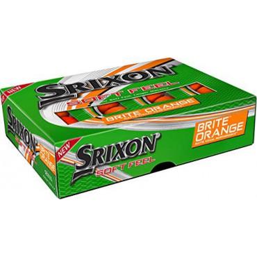 Srixon Soft Feel Brite 2020, Bolas de Golf Naranjas (12 Bolas)Inicio