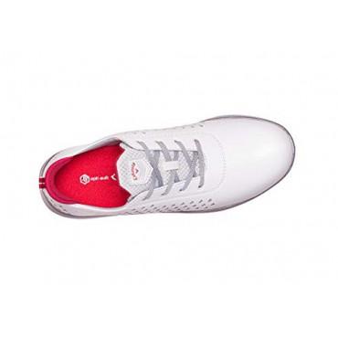 CALLAWAY HALO Diamond, Zapatos de Golf Mujer, Blanco/RosaZapatos Golf Mujer