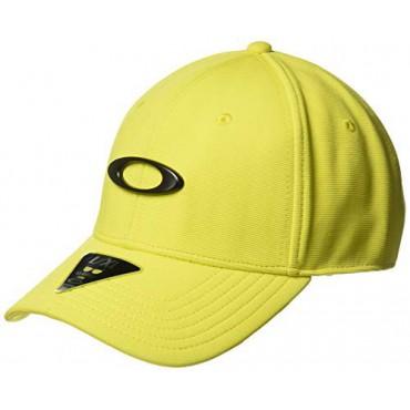 Oakley Tincan Gorra Golf para Hombre, Amarillo neón, Talla S/MGorras y viseras Golf