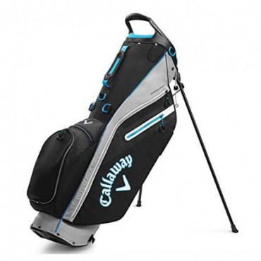 Callaway Golf Fairway C - Bolsa con soporte para golf, color Plateado y negro., tamaño Talla únicaBolas y Accesorios
