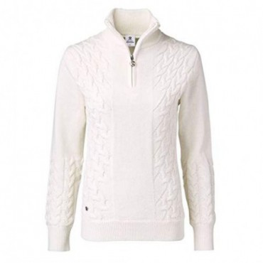 Daily Sports, Alondra LS Windstopper Golf Jersey, Mujer (Blanco Ivory)Ropa de Mujer