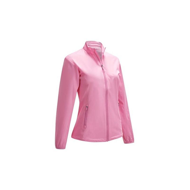 Callaway L/S Wind Jacket Chaqueta Deportiva, Rosa para MujerRopa de Mujer