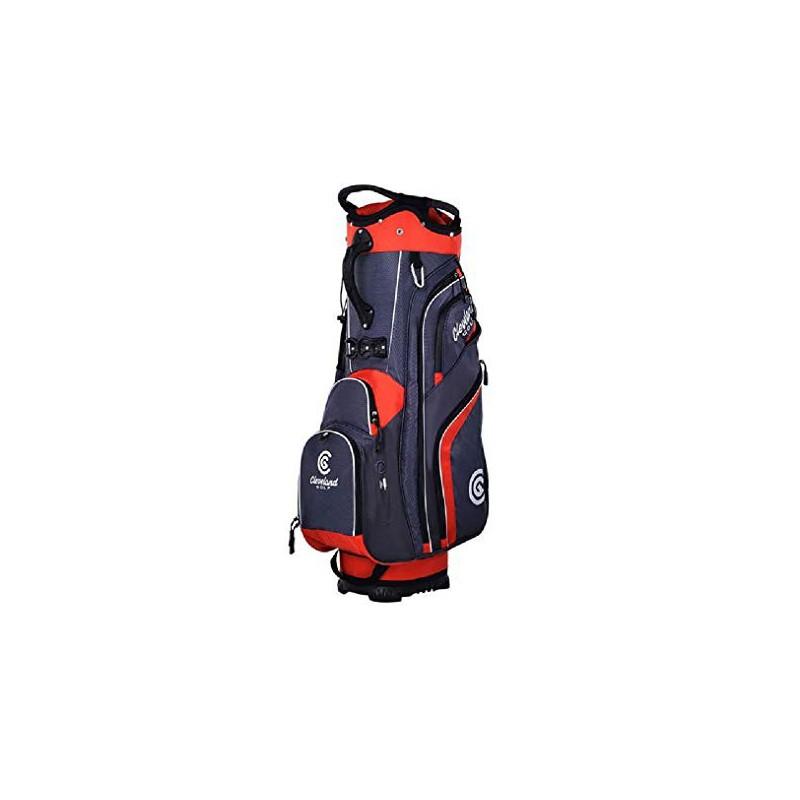 Cleveland Golf, Bolsa Cart Friday Charcoal/Red.Bolsas Golf Cart