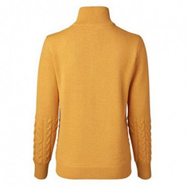 Daily Sports ,Alondra LS Windstopper Golf Jersey, Mujer (Amarillo Amber)Ropa de Mujer
