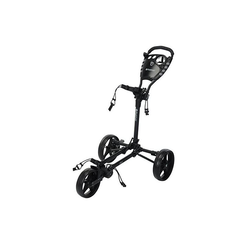 Fast Fold FF400010 Carro Plano, Unisex-Adult, Negro, Talla únicaCarros Manuales Golf