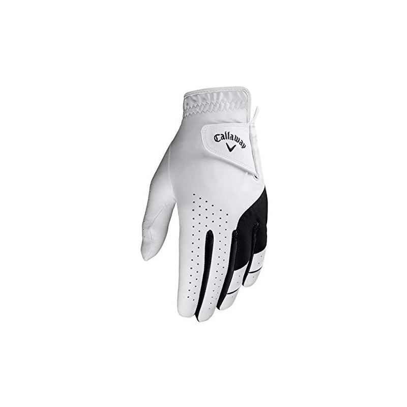 Callaway Golf X Junior Guante de golf para niños Blanco/NegroGuantes Junior