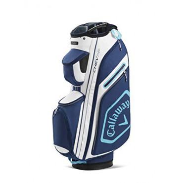 Callaway Golf Chev 14+, Bolsa Golf Cart Blanco/Navy/Azul ClaroBolsas Golf Cart