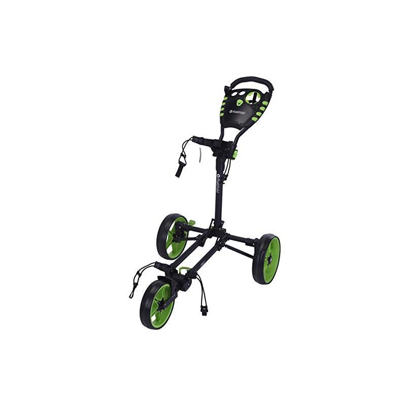 Carro manual Fast Fold Unisex Adulto, Negro/VerdeCarros Manuales Golf