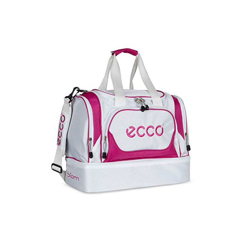 Ecco Carry All Duffel Bag White/Candy White/CandyMochilas-Zapateros