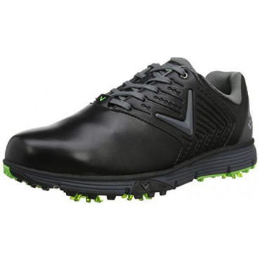 Callaway Chev Mulligan S, Zapatos Golf Hombre, NegroZapatos Golf Hombre
