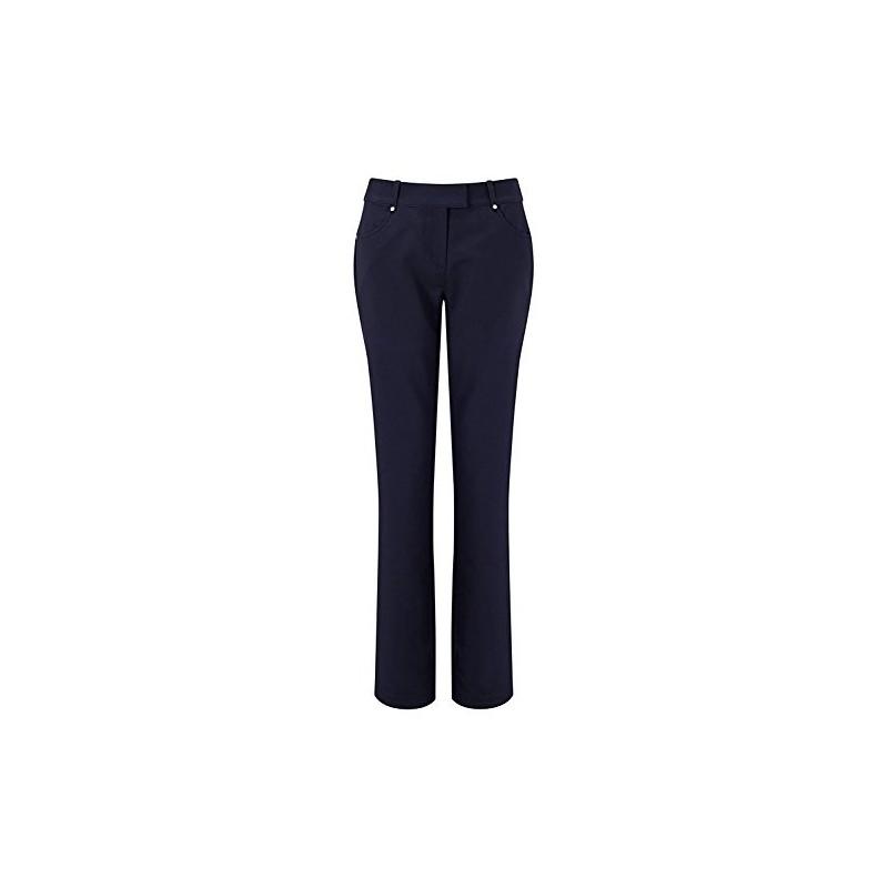 Callaway Thermal Pantalones de Golf, Mujer, AzulRopa de Mujer