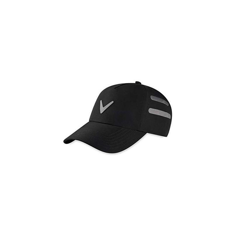 Callaway Golf Gorra Opti-Vent Mujer Ajustable Negro/GrisGorras y viseras Golf