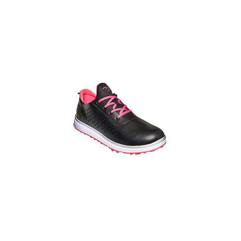 CALLAWAY HALO Diamond, Zapatos de Golf Mujer, NegroZapatos Golf Mujer