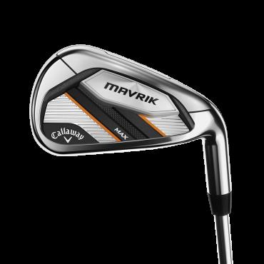 Callaway Mavrik MAX Set 6 Hierros AceroSet Hierros Golf