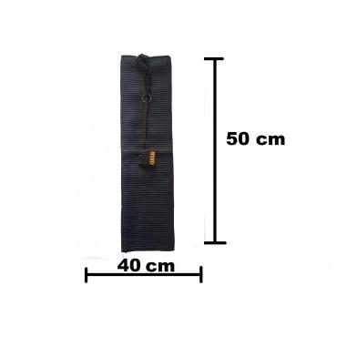 BGSP - Regalo Golf | Toalla Microfibra + Cepillo Negro para Golf con Gancho para Bolsa (Azul marino)Inicio