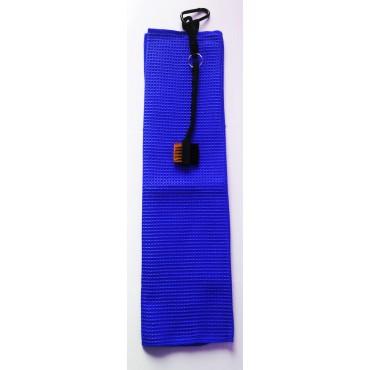BGSP - Regalo Golf | Toalla Microfibra + Cepillo Negro para Golf con Gancho para Bolsa (Azul)Inicio
