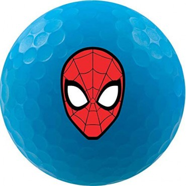 Bolas de Golf Volvik Vivid By Marvel - Set de Regalo (Spiderman)Inicio