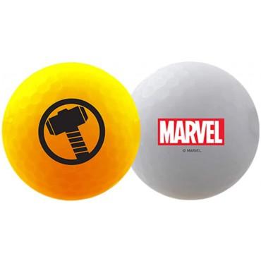 Bolas de Golf Volvik Vivid By Marvel - Set de Regalo (Thor)Ideas para regalar
