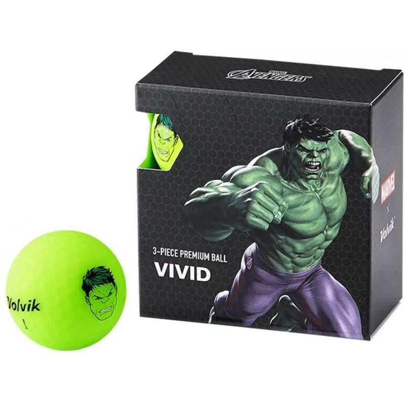 Juego de 4 bolas Volvik Vivid By Marvel - Set de Regalo (Hulk)Ideas para regalar