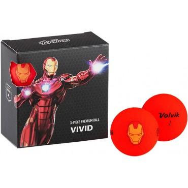 Juego de 4 bolas Volvik Vivid By Marvel - Set de Regalo (Iron Man)Inicio