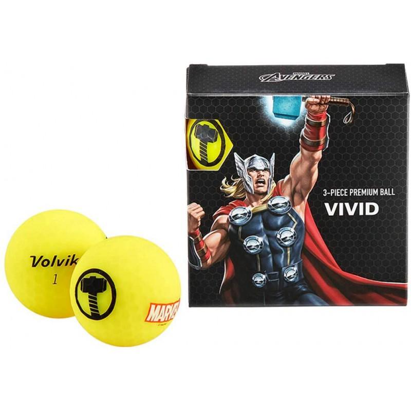 Juego de 4 bolas Volvik Vivid By Marvel - Set de Regalo (Thor)Ideas para regalar