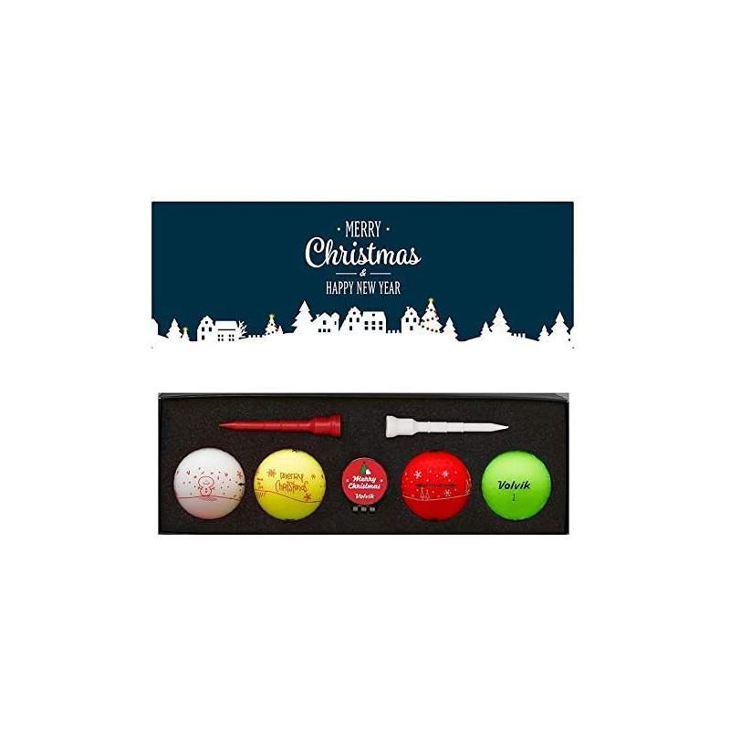 Bolas de Golf Navidad Volvik - Set de RegaloIdeas para regalar