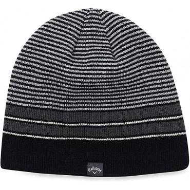 Callaway Winter Chill Gorro de Punto para Hombre Negro/PlataGorros de lana