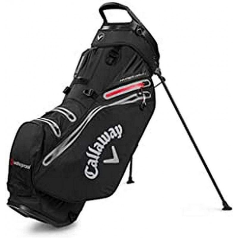Callaway Golf Bags Hyper Dry 14-Bolsa con trípode, Color Negro y Gris, Unisex AdultoBolsas Golf Stand (trípode)