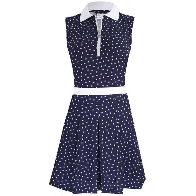 Daily Sports Eileen SL Dress Vestido para mujer Azul Marino/BlancoRopa de Mujer