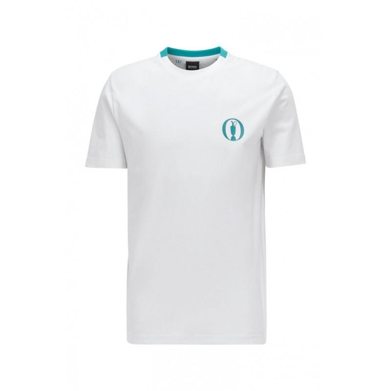 BOSS Camiseta Tee Bo de la colección The Open 2021Ropa de Caballero