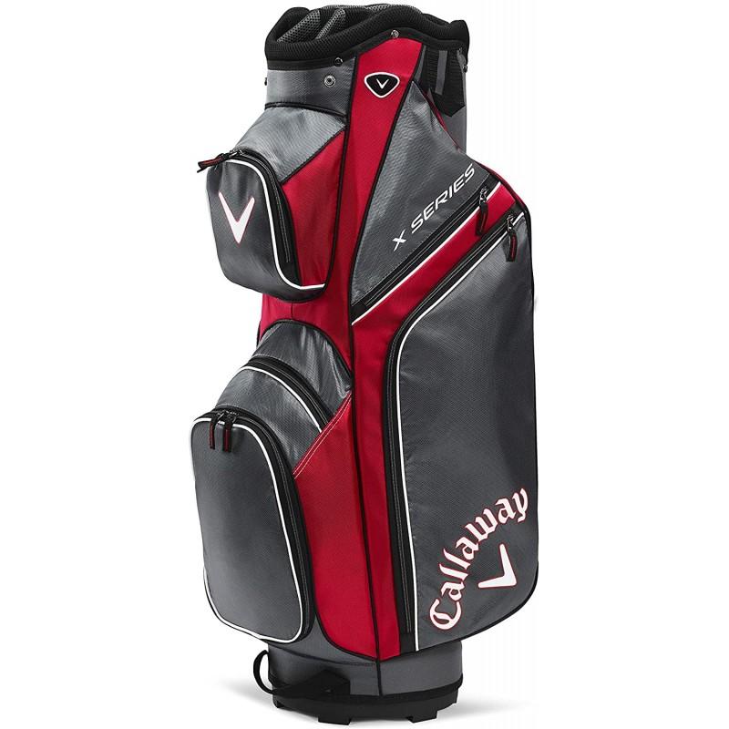 Callaway Golf X Series Bolsa Golf de Carro, Red/CharcoalBolsas Golf Cart