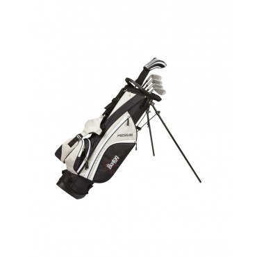 BOSTON JUNIOR SET PREMIUM 1/2 SERIE (BOLSA + 6 PALOS) - TEENAGER GRISSet Completos Golf Junior