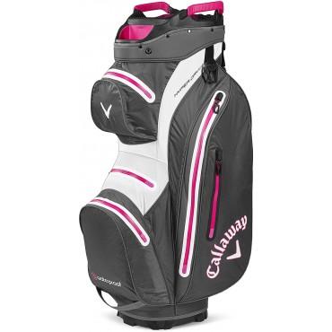 Callaway Hyper Dry 15 bolsa carrito de golf unisex carbone/rosaInicio