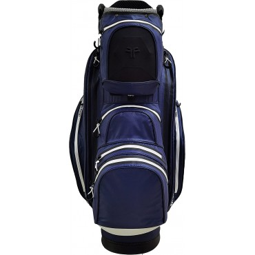 Fast Fold Hurricane Cart Bag navy/whiteBolsas Golf Cart