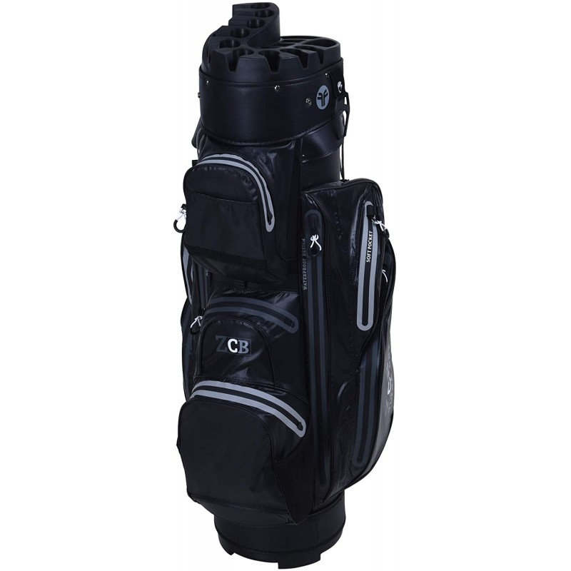 Fastfold ZCS - Bolsa de transporte impermeable negro/grisBolsas Golf Cart