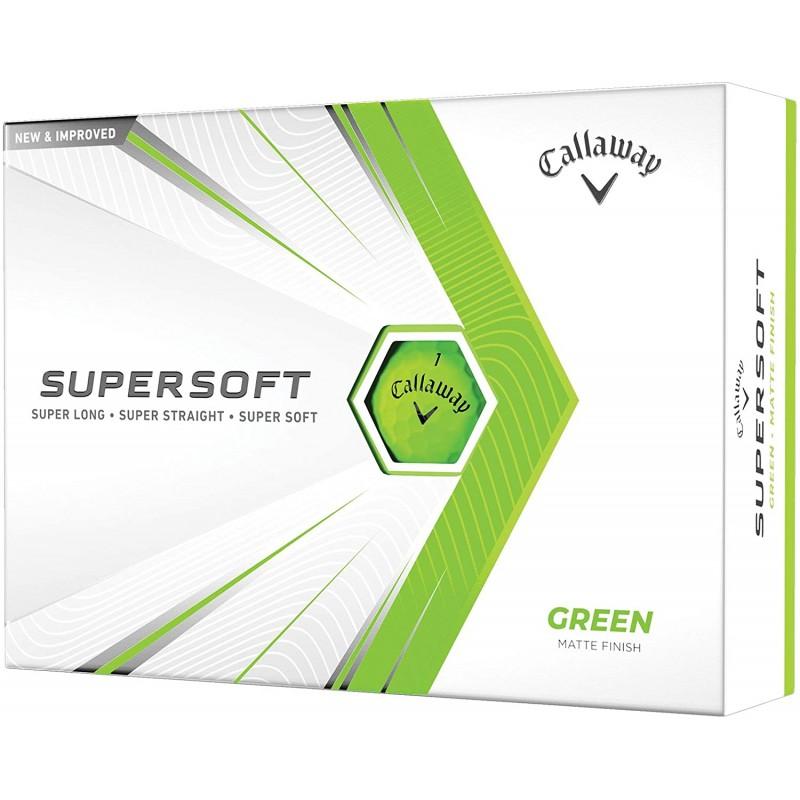 CALLAWAY BOLAS DE GOLF SUPERSOFT VERDES 2021Bolas Golf