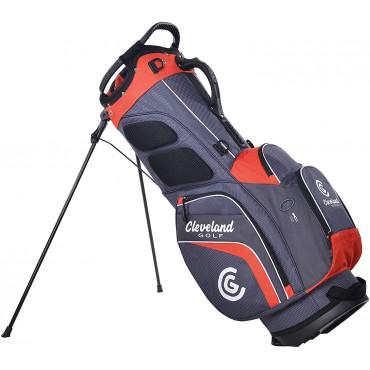 Cleveland Golf Bolsa de Tripode Saturday Gris/RojoBolsas Golf Stand (trípode)