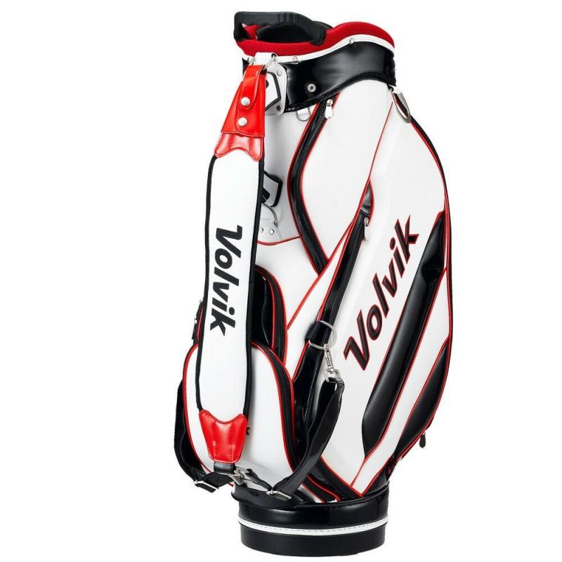 Volvik Tour Bolsa de golf blanco/rojoBolsas Golf Cart