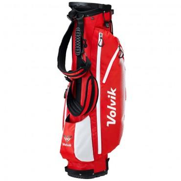 Volvik Vivid Bolsa Stand RojoBolsas Golf Cart
