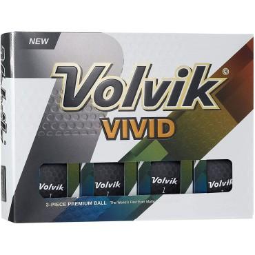 VOLVIK VIVID BOLAS DE GOLF NEGROBolas Golf