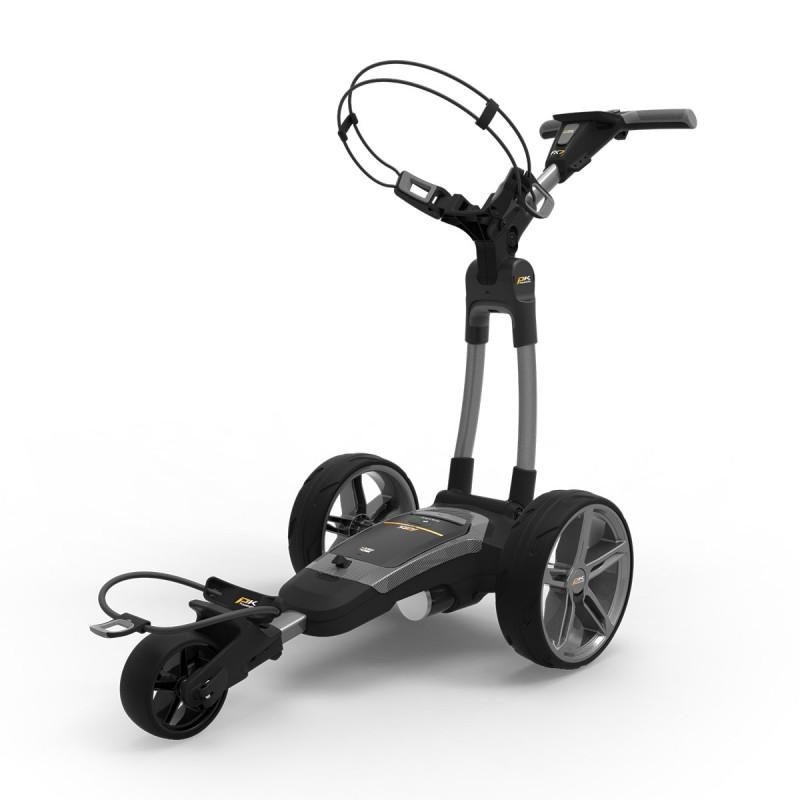 POWAKADDY FX 7 GPS EBS Gunmetal Carro Eléctrico Golf LitioCarros Eléctricos Golf