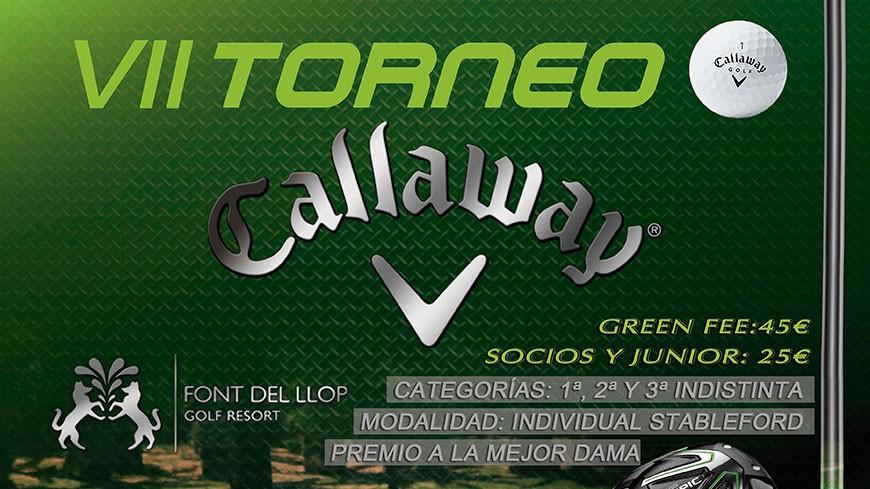 VII Torneo Callaway Golf  en Font del Llop Resort